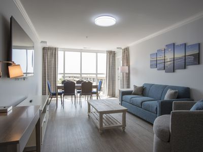 Photo for Newly Built Luxury Ocean View Condo Just Short Walk From Beach