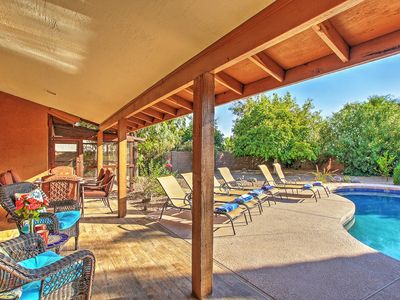 Photo for Scottsdale Home w/Fireplace & Private Heated Pool!