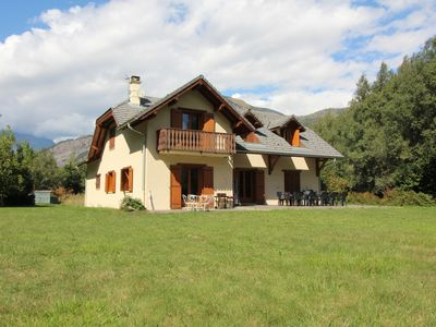 Photo for Impressive House and Garden in Bourg d'Oisans, Cyclist Friendly, Garage, WIFI