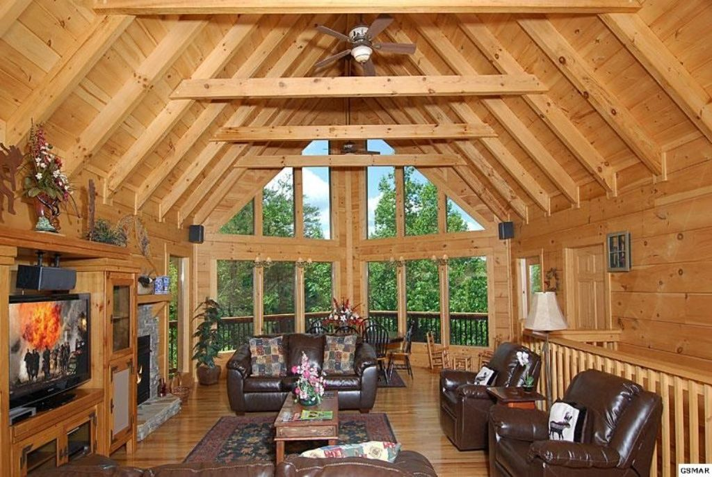 Whispering Canyon 4br 5ba Cabin W Nature Vrbo