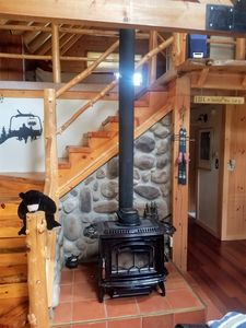 Photo for Beautiful Rustic Log Home, 10 minutes from Sugarloaf Mountain Ski Resort