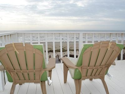 Photo for Beachfront Indian Beach Home with Panoramic Views