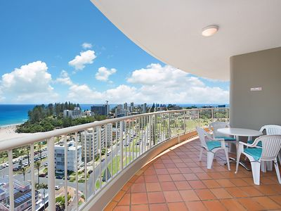 Photo for Ocean Tower Unit 1407 - Modern apartment with great views - TWIN TOWNS RESORT