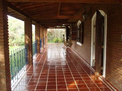 Photo for BEAUTIFUL CHÁCARA WITH SWIMMING POOL 350 METERS FROM ASPHALT. DAILY FROM R $ 400.00