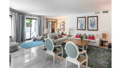 Photo for 319m2 Beach house in Golden beach Marbella, perfect  for families & groups.
