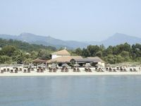 Really lovely resort on an uncrowded beach that stretched for miles