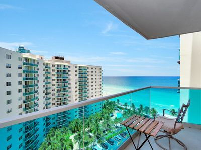 Photo for Gorgeous  Ocean View Apt. Right on the Beach!