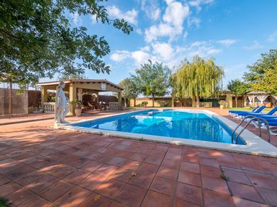 Photo for Club Villamar - Rustica villa with private pool, has large garden where you can enjoy wonderful h...