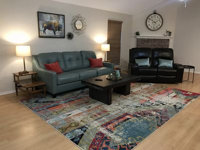 Photo for 30 min Downtown Dallas/ Fort Worth Midlothian/Ellis Co. Freshly Remodeled Home