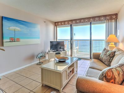 Photo for Pelican Watch 702 - Oceanfront condo with indoor/outdoor pools, and elevators