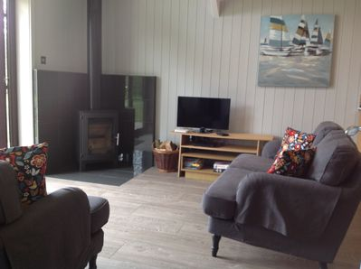 Blackberry Lodge - sleeps 2 woodburner