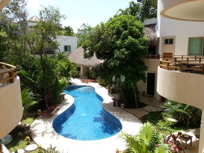 Photo for Sept/Oct Sale in beautiful Tulum - Mariposa Azul 2 bed & beaches minutes away