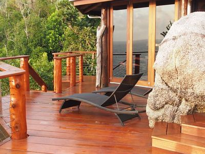 Photo for Romantic Luxury Villa, Magnesium Plunge pool, perfect for couples.Private Island