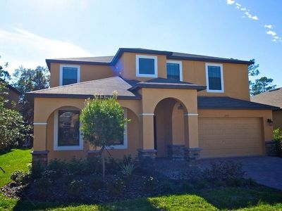 Photo for Cypress Pointe 5 Bedrooms 4.5 Bathroom Home with Poo/Spa - Games Room - Home Theater