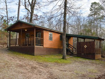 HotTub/Fire Pit/Cabin Near Broken Bow Lake/Beavers Bend State Park