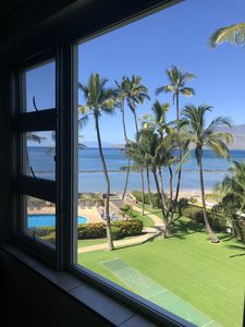 Oceanfront 2B/2B fully furnished condo.  Lanai balcony with ocean view.