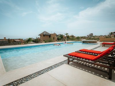 Photo for Todos Santos Tranquil Ocean View Casita with Large Pool