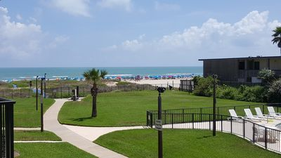 View from the condo balcony.