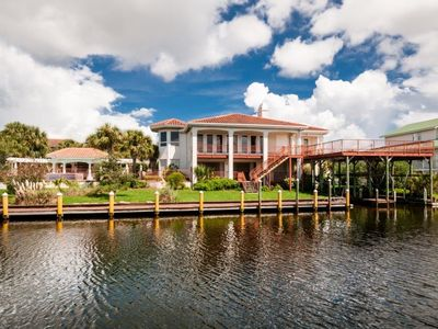 Photo for Very Large Home W/ Private Pool and Boat Slip