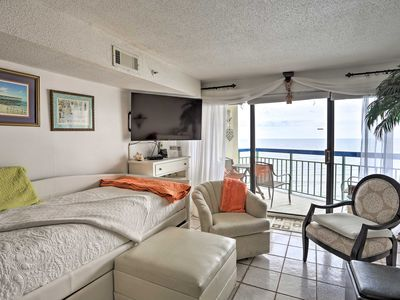 Photo for NEW! Oceanfront North Myrtle Beach Condo w/ Pool!
