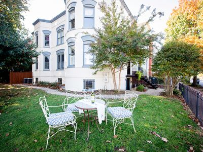 Photo for Light-filled Apartment.  Family-Friendly, Walk to Parks, Metro, Coffee, Dining