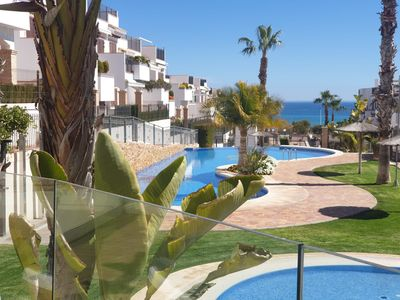 Photo for With pool Right on the beach in Torrevieja