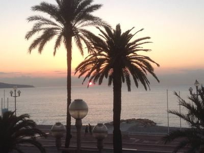 Photo for Seafront, directly on the Promenade des Anglais, Nice