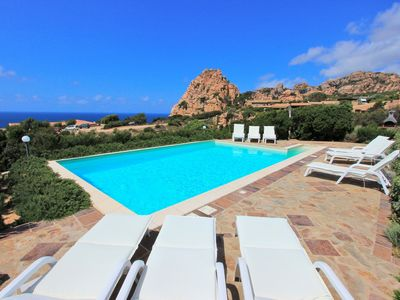 Photo for Villettta Chessi Blu, pool, air conditioning, wifi, 250 m from the sea