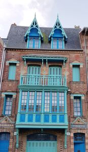 Photo for Duplex in historic villa in Mers les Bains 30m from the beach 4-7 persons