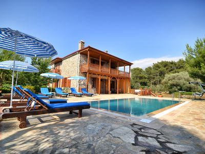Photo for Kay8800-Holiday Villa for rent in Kayakoy For Up to 8 People