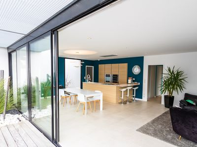 Photo for New architect villa 3 minutes from the beaches.