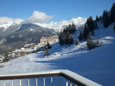 Photo for MAGNIFICENT SKIauxPIEDS, Courchevel, standing, balcony, sun, quiet, mountain view