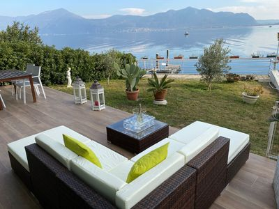 Photo for Luxury Apartment on the Lake with private garden