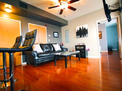 Photo for Exquisite Top Floor Condo, Heart of Downtown Indy