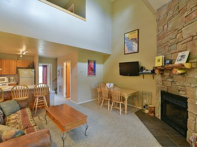 Photo for Vacation Condo with Views of Snowbasin and Pineview Lake at Wolf Creek Utah Resort in Eden UT