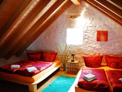 Photo for Romantic and stylish Eifel house - 10 people incl. Sauna - dogs allowed