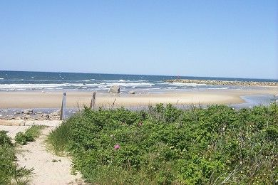 Photo for Charming Cape Cod Cottage, Sandy-Semi Private beach, Walk to Sesuit Harbor