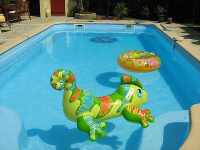 Loads of age related pool toys