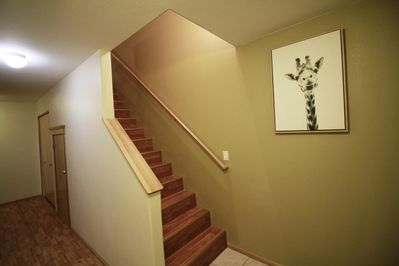 Stair to the Living Room
