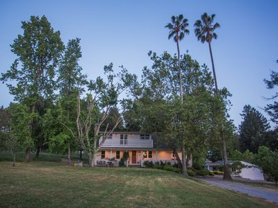 Photo for Historic Apple Farm Setting In The Wine Country