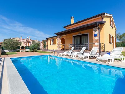 Photo for Modern holiday home with pool for up to 7 people in Nova Vas near Porec
