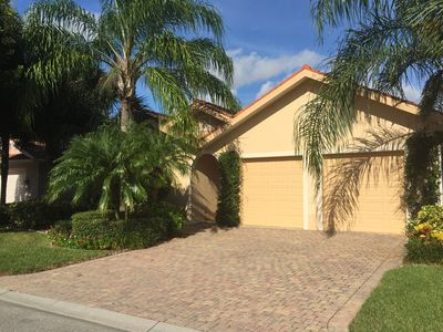 Photo for Private 3BR 3BA Villa in Gorgeous Resort-Style Gated Community close to a beach