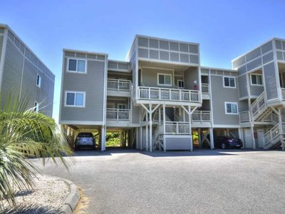 Photo for Beautiful 2 Story, 2 BR/2 BA Oceanfront Condo with POOL-Located in Caswell Beach-Sleeps 4