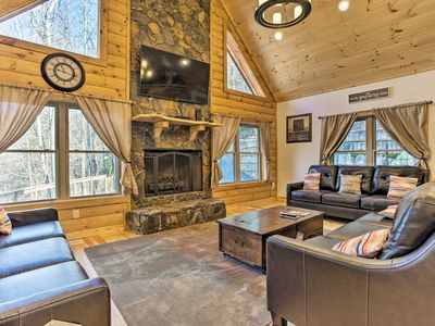 Photo for NEW! Maggie Valley Home w/ Hot Tub, Decks & Views!
