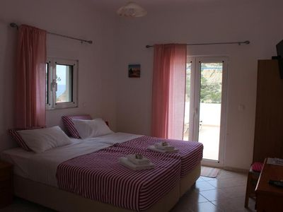 Photo for Studio with sea view ,only 100 meters from the beach ...