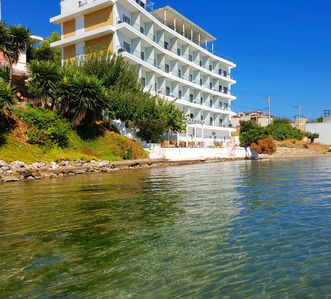 Photo for Greek Seafront Resort with capacity up to 80 persons 1 hour from Athens Airport