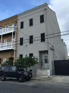 Historic 1850's restored elegant and spacious townhouse with private side lot!