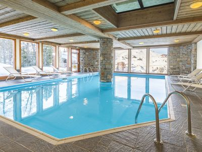 Photo for Cozy apartment located just 100 m. from the slopes of Plagne