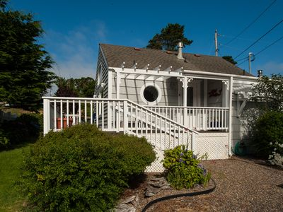 Photo for Cute & cozy honeymoon cottage perfect for two guests in Depoe Bay, Oregon!