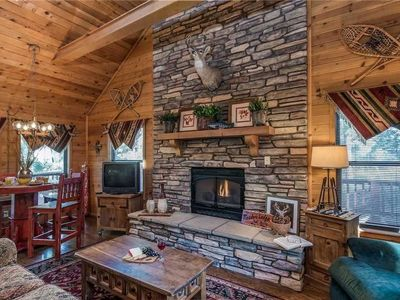 Photo for The Breathe Inn - Two Bedroom Cabin with Hot Tub